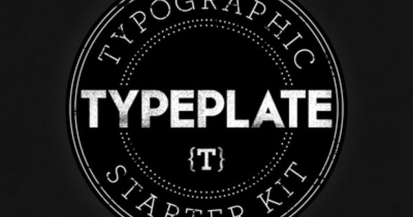 Typeplate logo