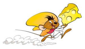 speedy gonzales runs with cheese agile web development
