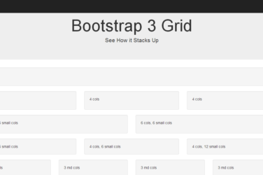 bootstrap columns grid