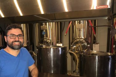 luis cuellar guest craft brewer at belly love brewing purcellville va saison