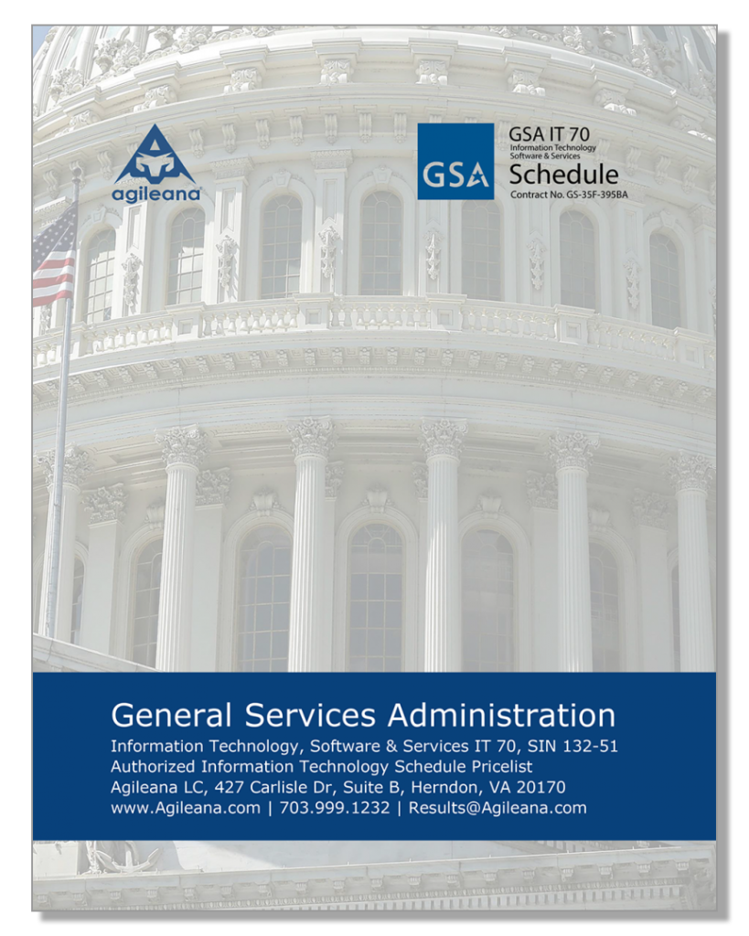 GSA Federal Supply Schedule (FSS) IT 70 Agile Drupal WordPress government contractor washington dc