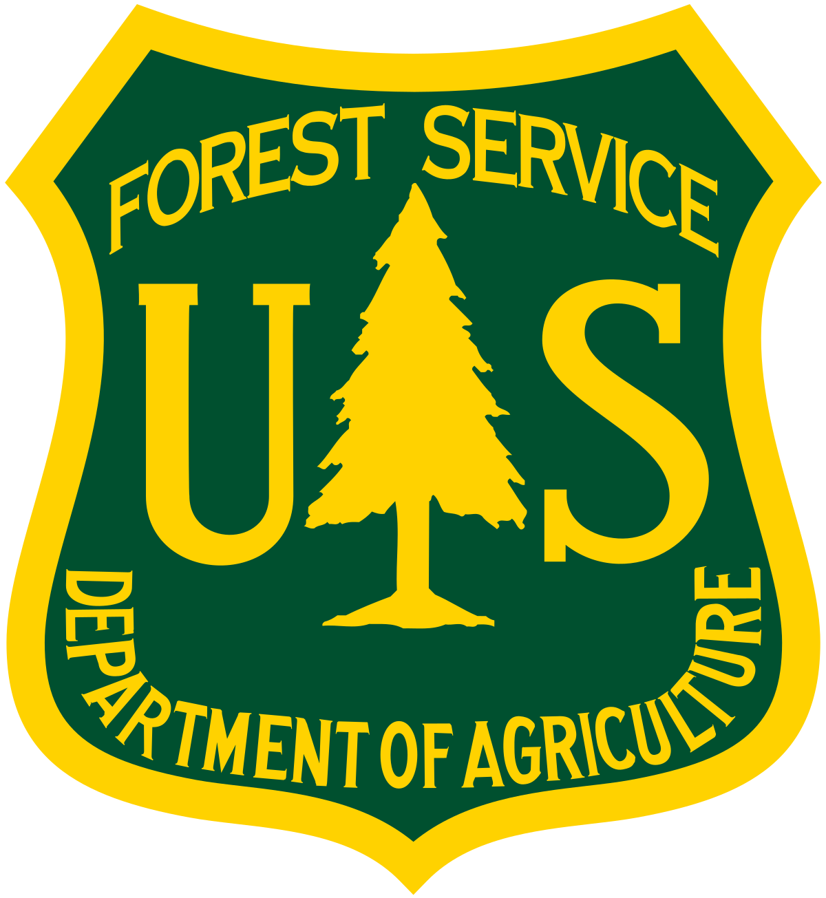 United States US Forest Service logo seal