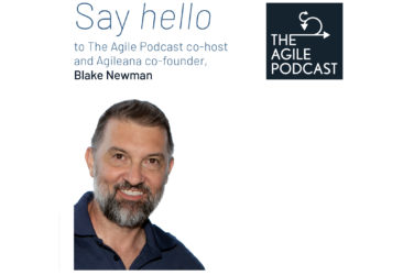 blake Newman host of agile podcast
